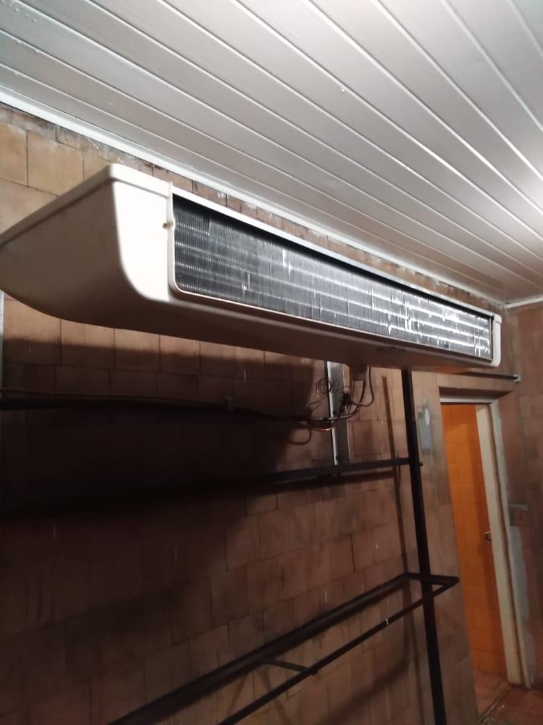 Монтаж холодильной машины