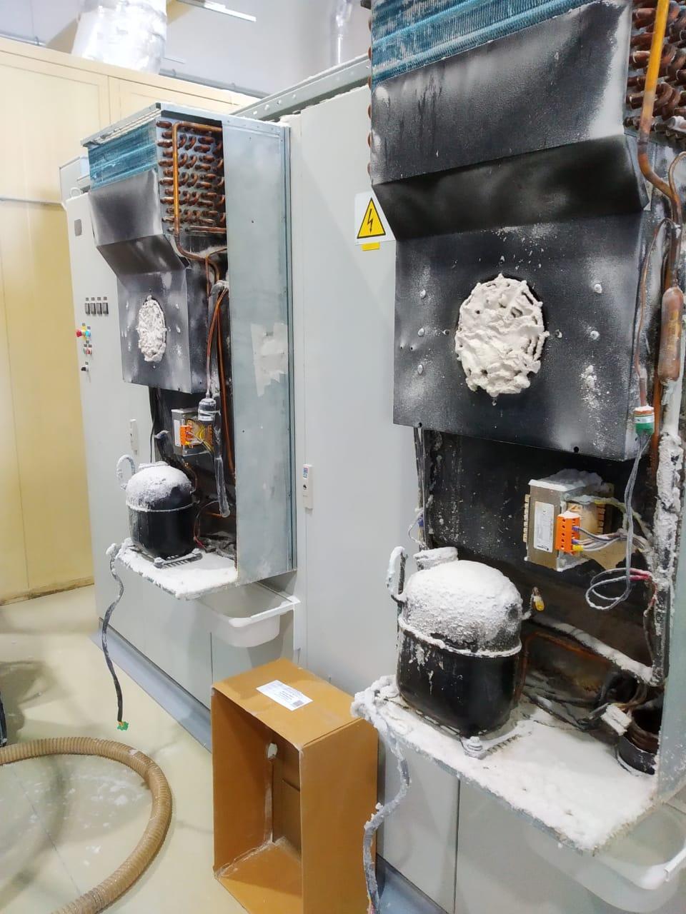 Обслуживание промышленных кондиционеров для электрических шкафов