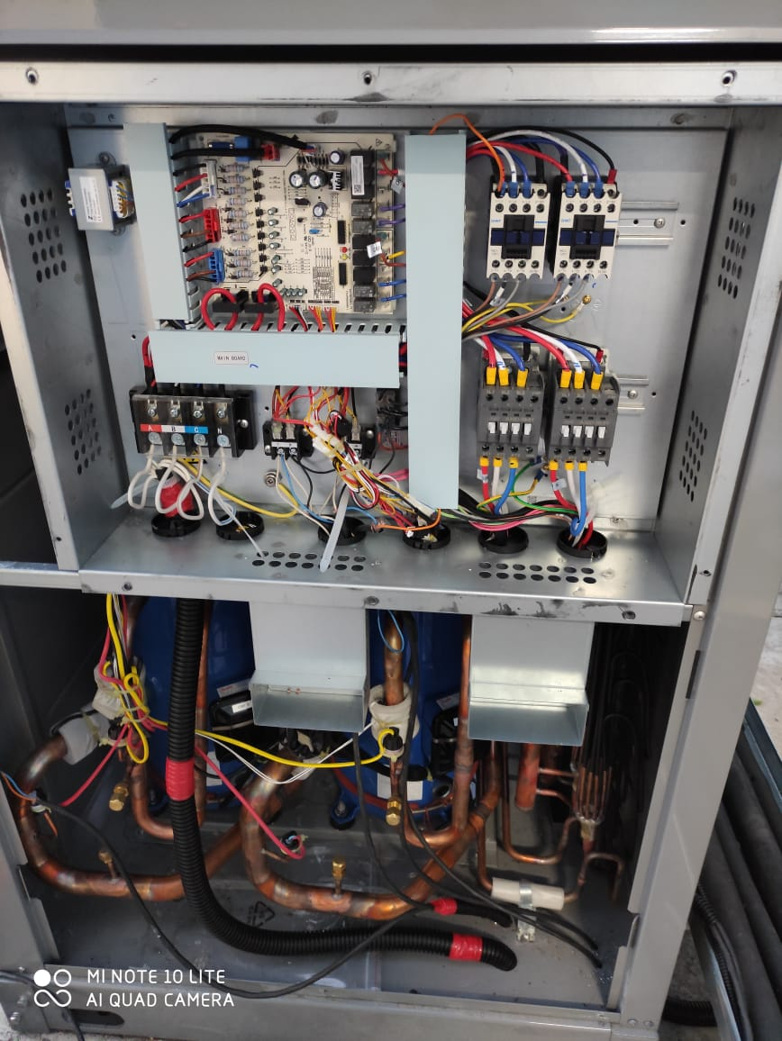 Ремонт компрессорно-конденсаторных блоков