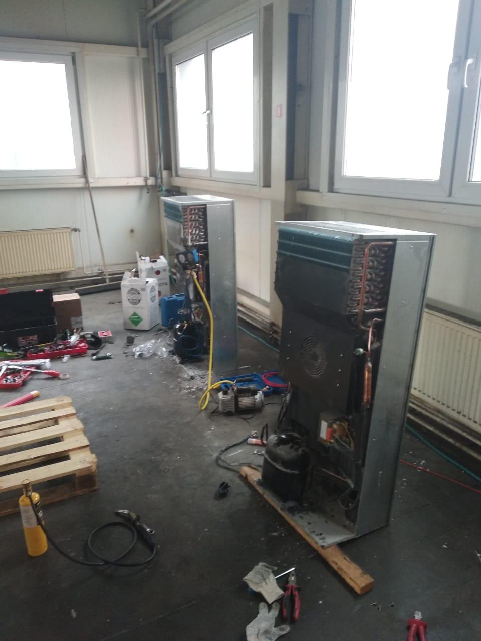 Ремонт кондиционера для электричеких шкафов