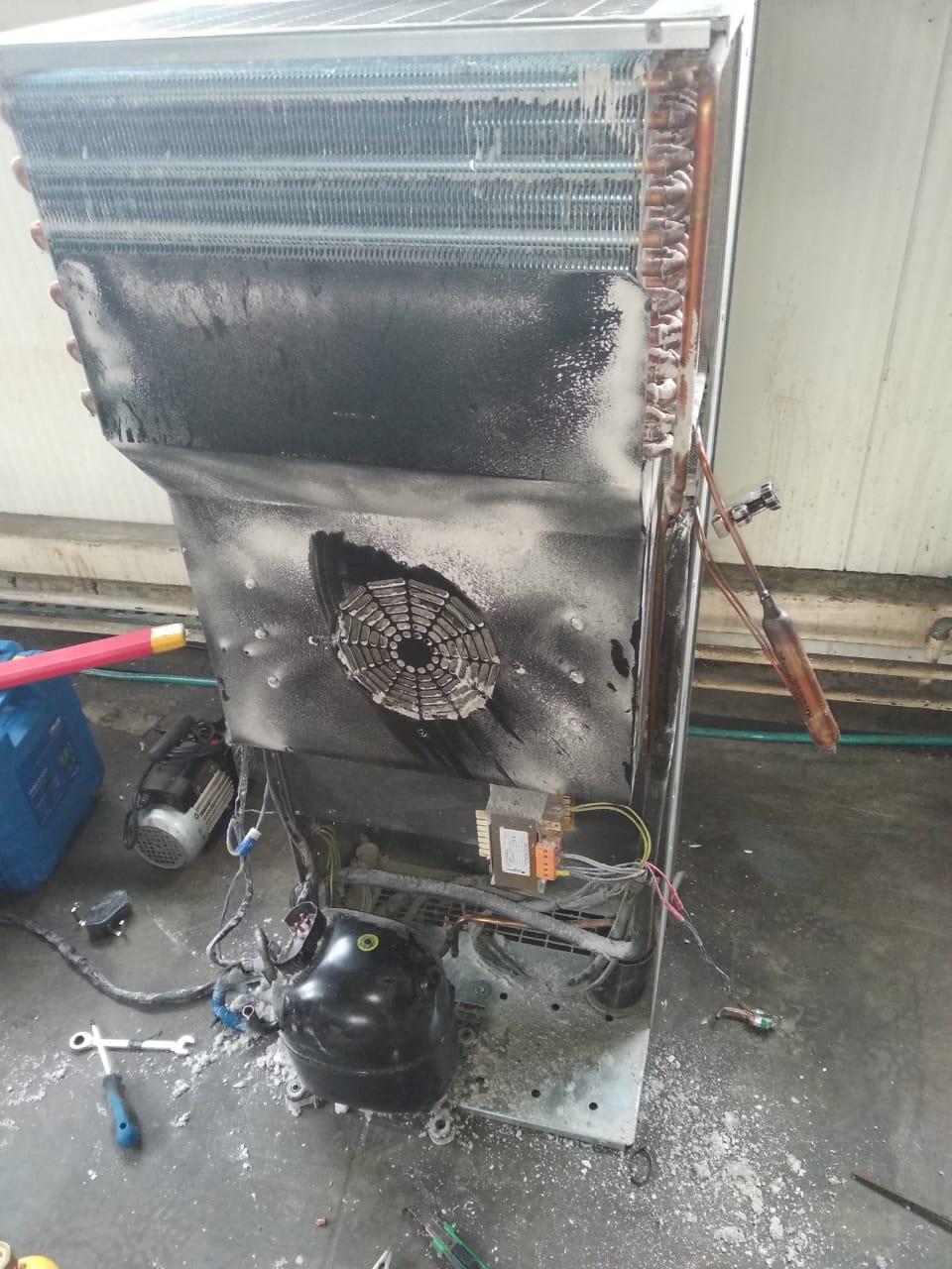 Ремонт кондиционера для обслуживания электрических шкафов