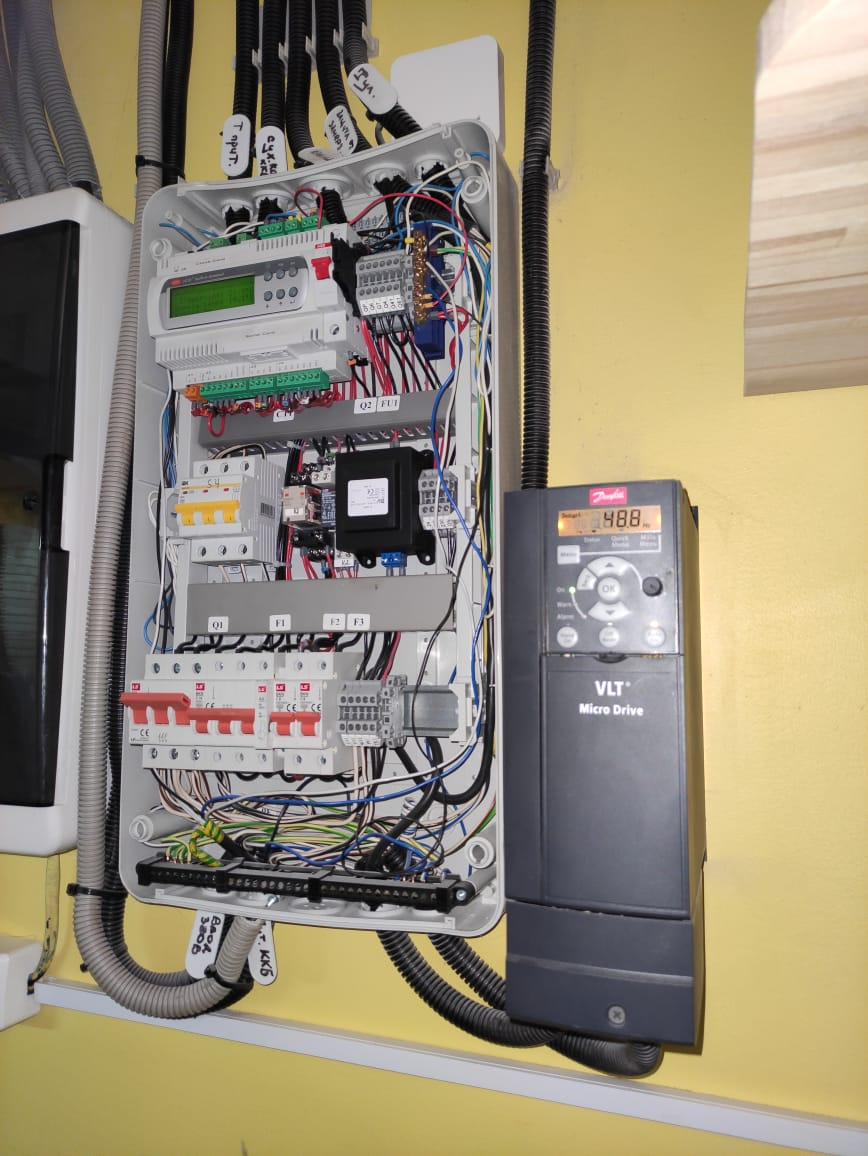 Техническое обслуживание системы вентиляции